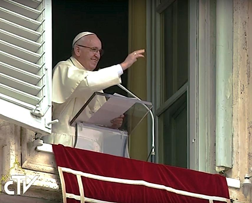 El Papa en el Regina Coeli