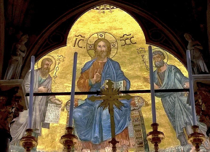 Cristo en la Iglesia de San Pablo, en Roma