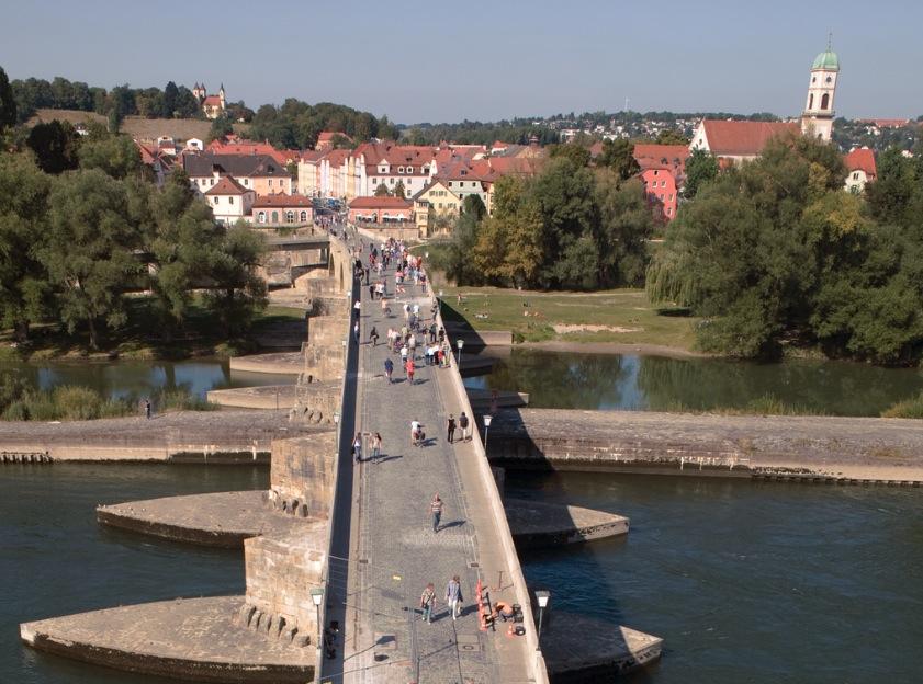 Reingesburg la ciudad natal en Alemania de la betaTeresa de Jesús (Carolina Gerhardinger) (Foto Wiki commons - cc- JNM)