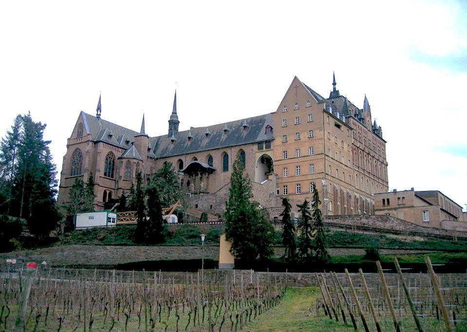 Convento donde profesó la beata Blandina Merten (Fto A. Savin Wikimedia Commons WikiPhotoSpace)