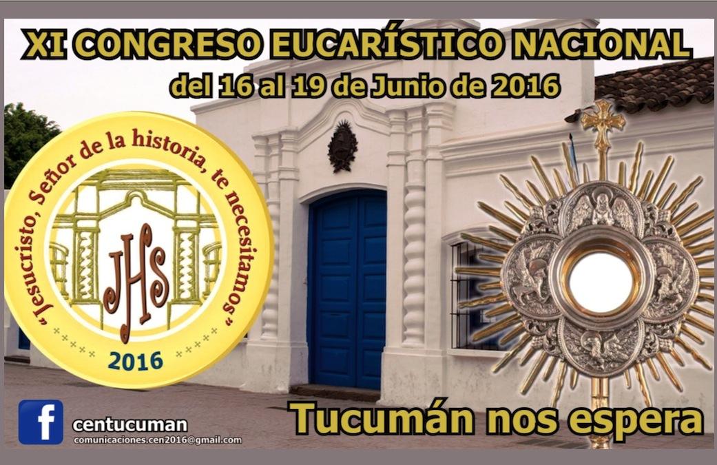 Logo del Congreso Eucaristico en Tucumán