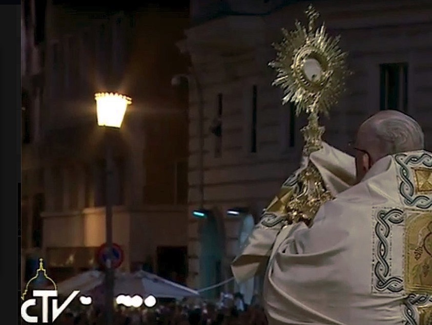 Corpus Christi, bendición final