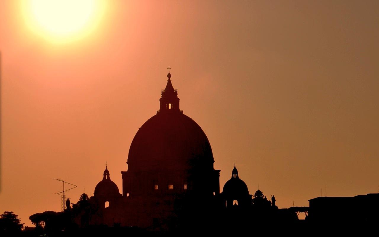La cúpula de la basílica de San Pedro en el Vaticano cupula (ZENIT cc)