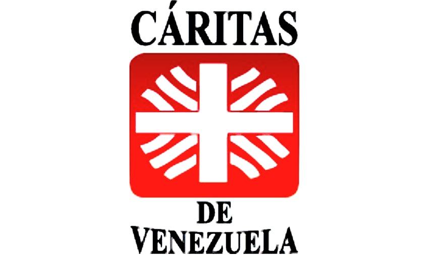 El logo de Cáritas de Venezuela