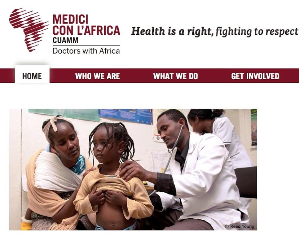 La web de los Médicos con África