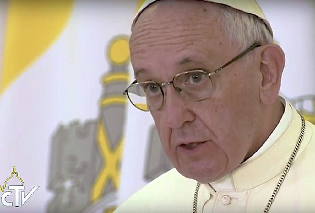 Papa Francisco. Captura CTV
