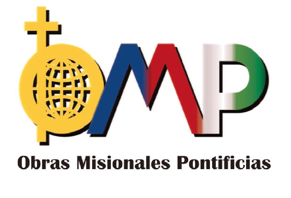 Logo de las Obras Misionales Pontificias