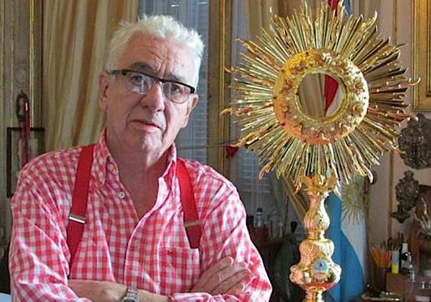 El artesano Pallarols y la custodia bicentenaria de oro