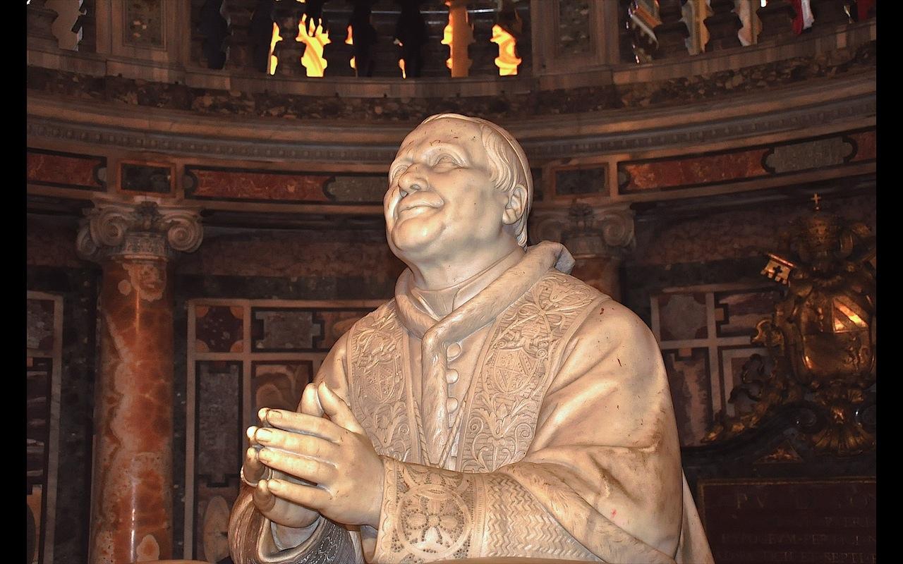 Pio IX, en Santa María Maggiore