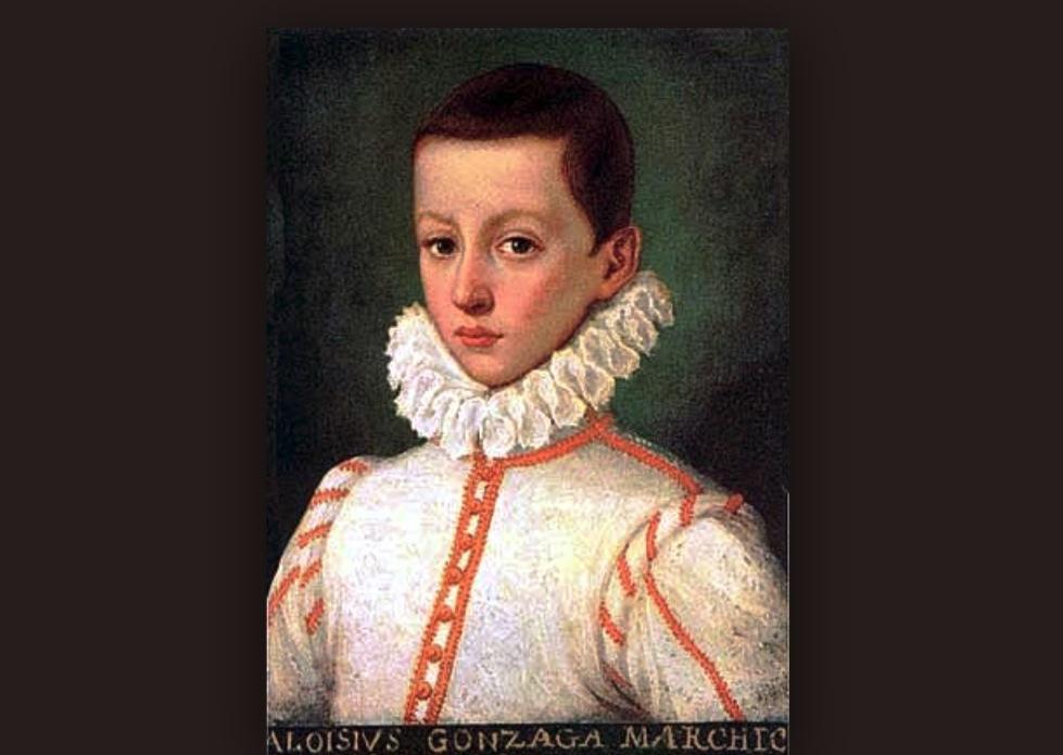 San Luis Gonzaga, cuadro histórico