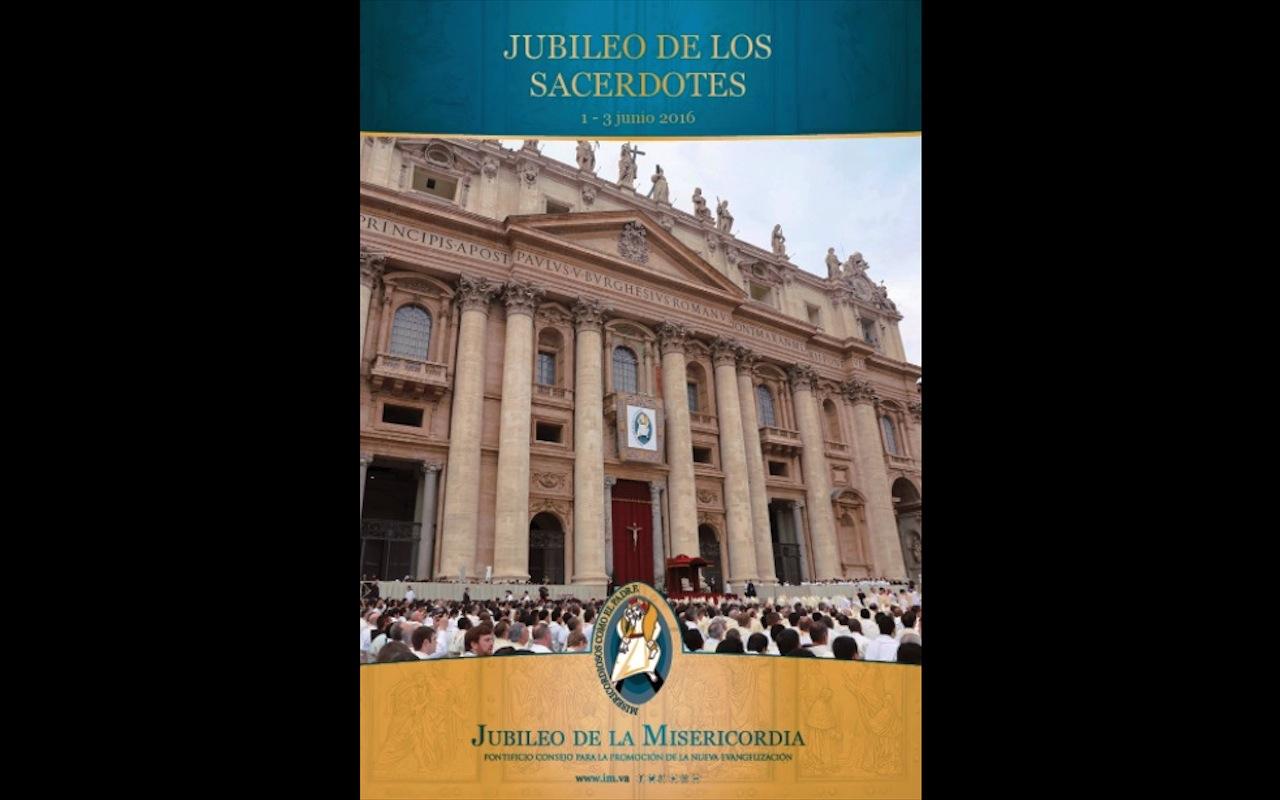 Depliant del jubileo de los sacerdotes