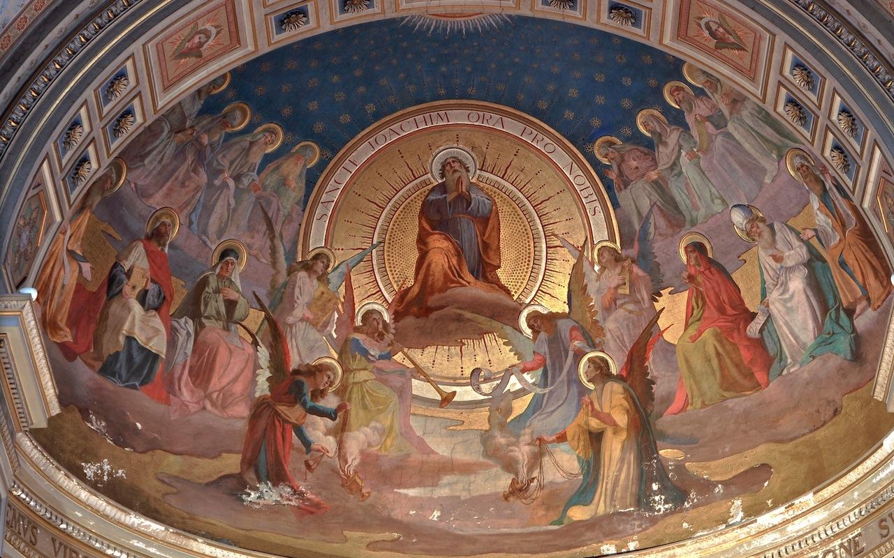 Apside de la iglesia romana de San Gioacchino (Foto ZENIT cc)