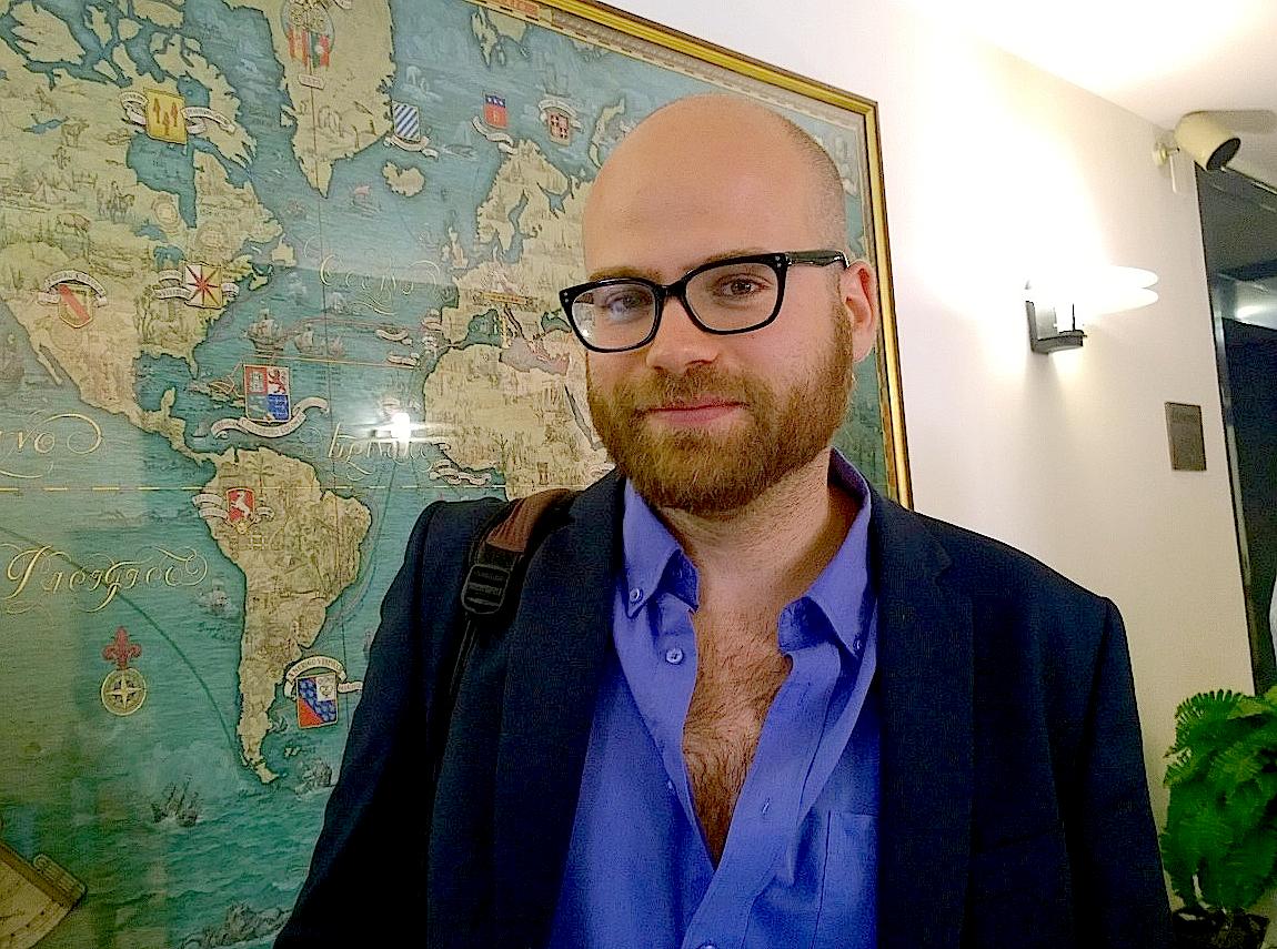 Adam Smulevich, periodista de la Unión de las Comunidades Hebreas en Italia (Foto ZENIT cc).