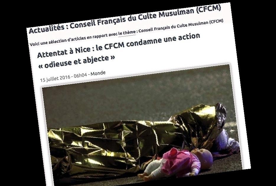 Web del Consejo francés de la comunidad musulmana