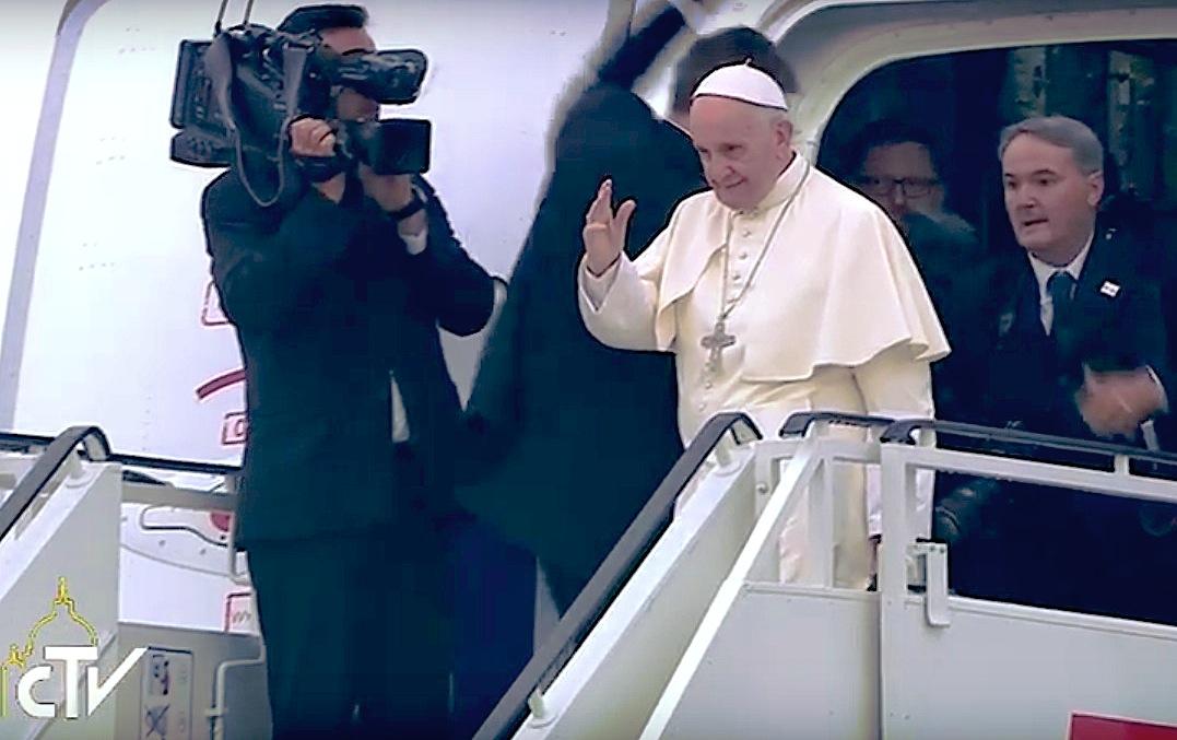Francisco se despide de Polonia