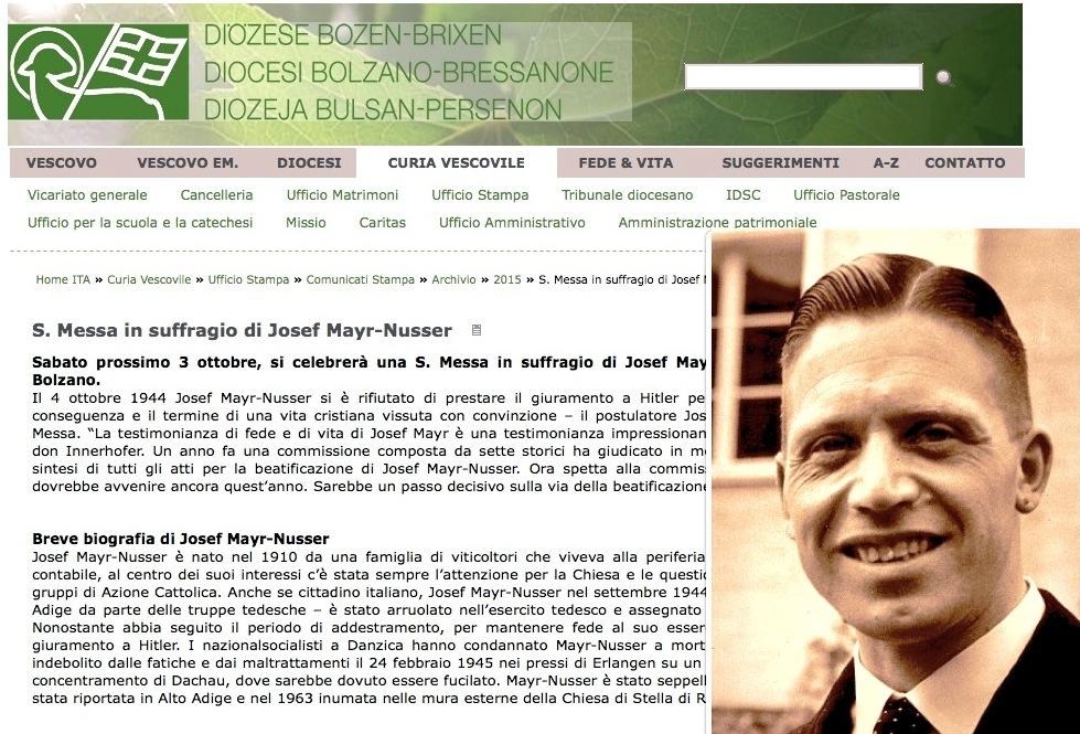 Jozef Mayr-Nusser (web bz-bx.net)