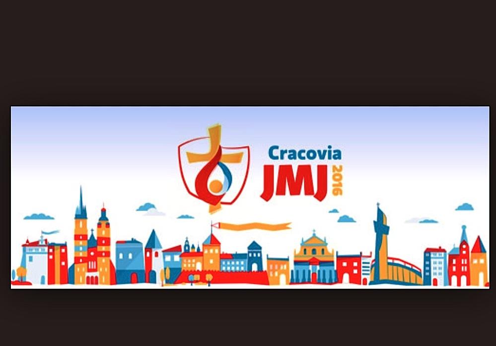 Logo de la JMJ 2016 en Cracovia