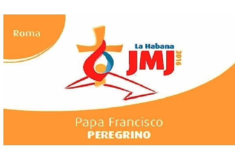 Logo de la JMJ en La Habana