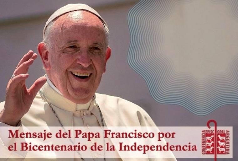 Carta del Papa por el bicentenario