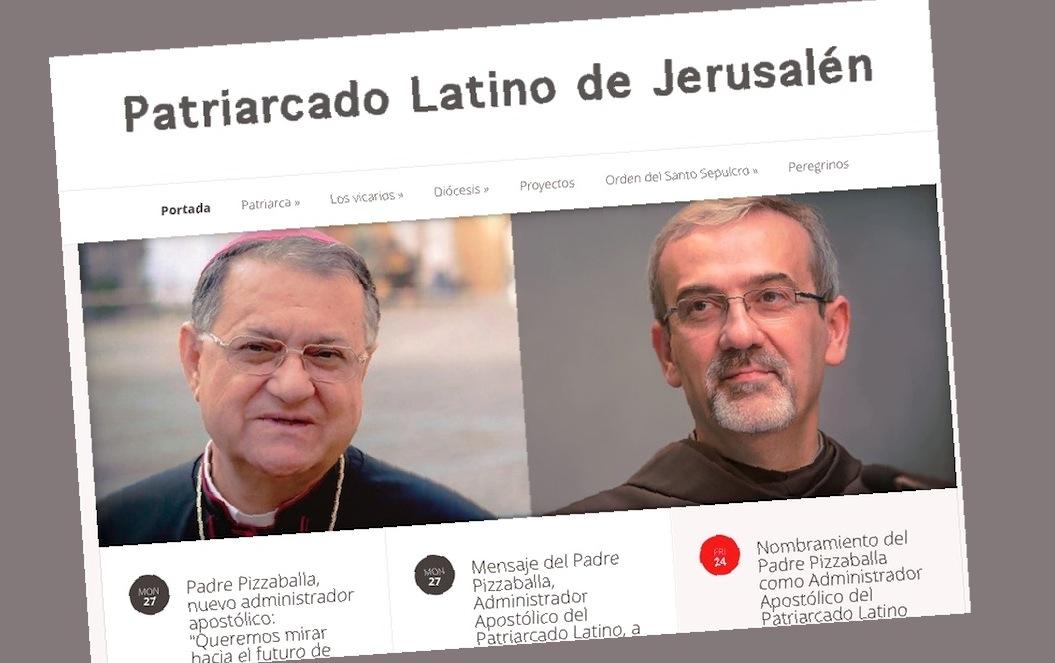 Web del Patriarcado Latino de Jerusalén