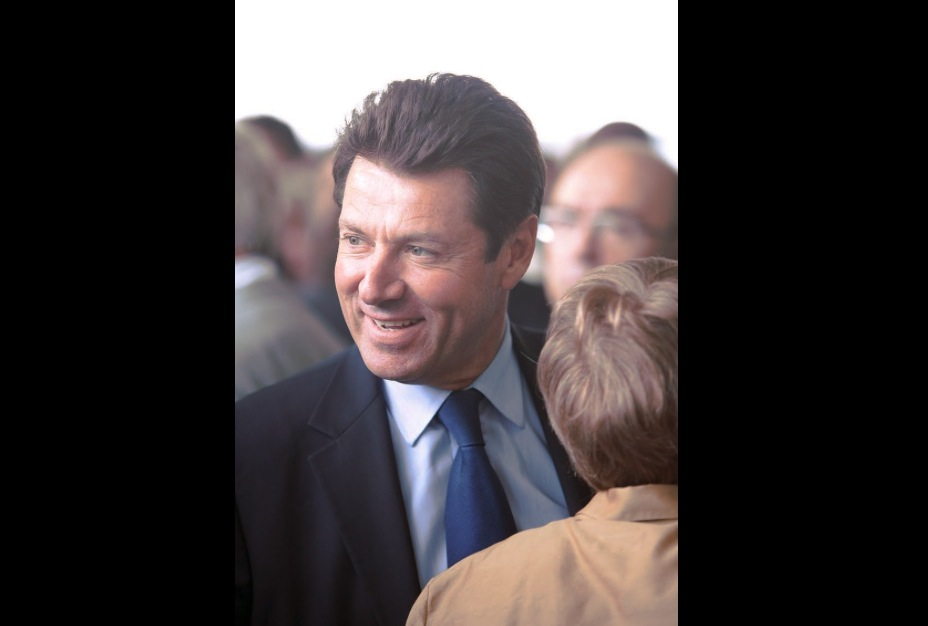 Christian Estrosi, alcalde de Niza. (Foto Wikicommons, Olivier Ezratty cc)