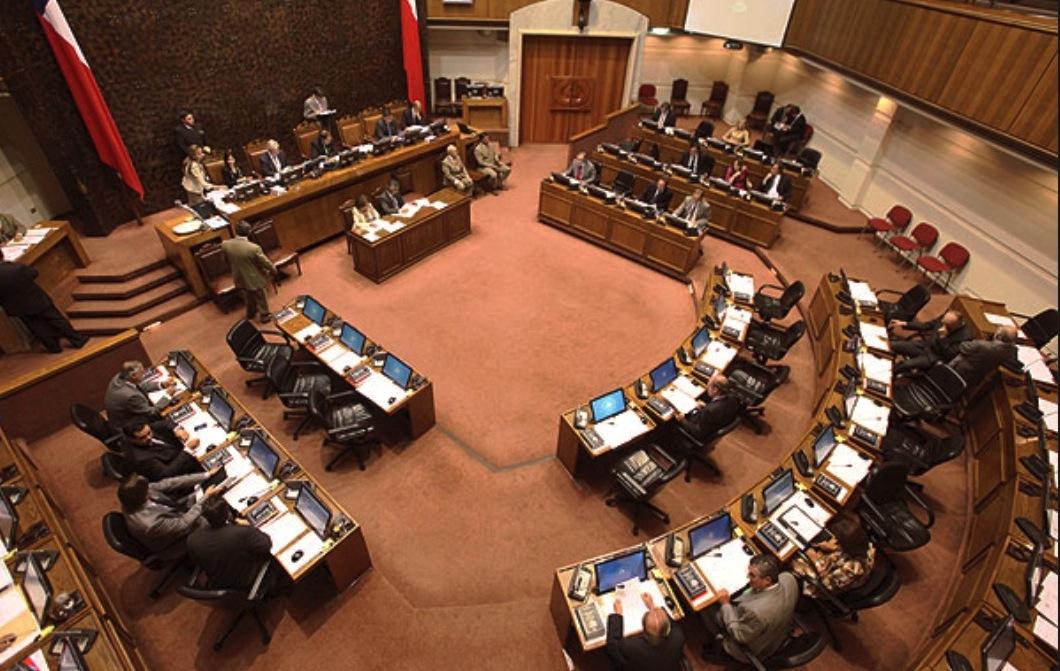 Foto archivo del Senado en Chile