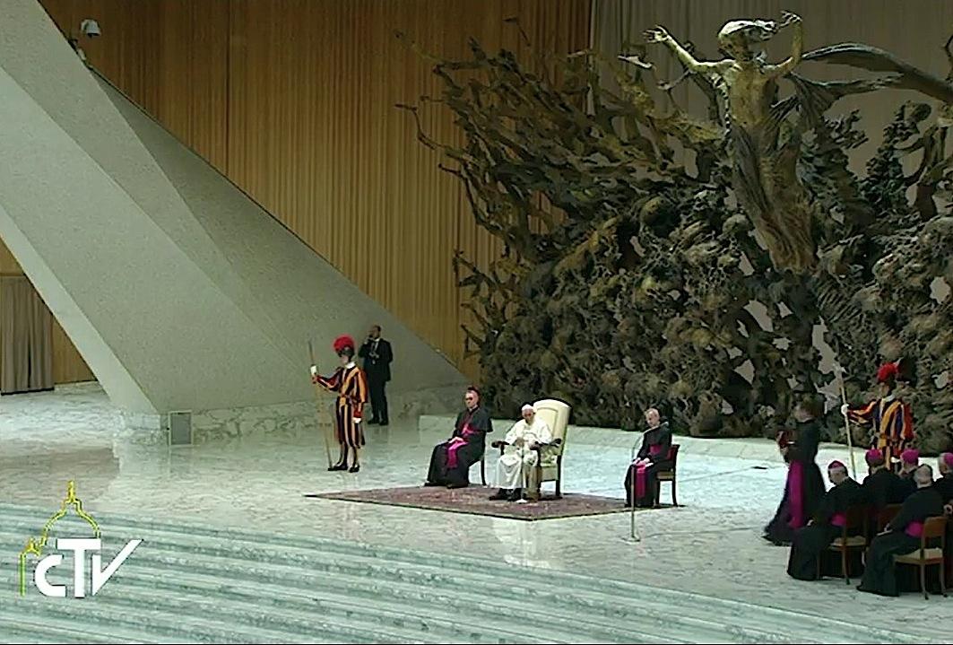 Audiencia en el Aula Pablo VI