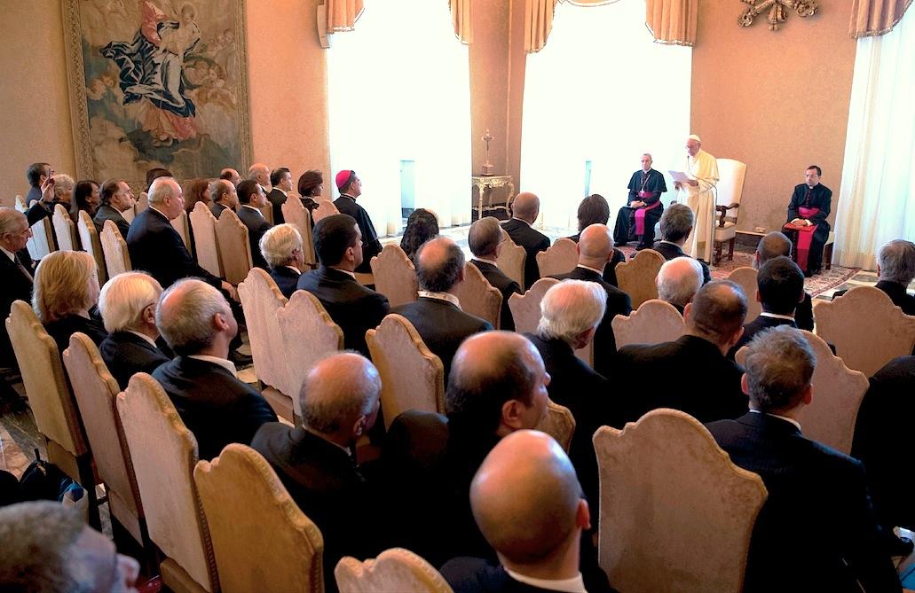 Audiencia a los participantes del Congreso organizado por el IDI y la OEA (Foto © Osservatore Romano)