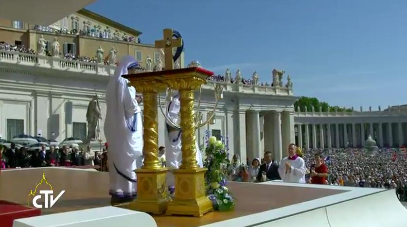 Reliquia Madre Teresa - CTV