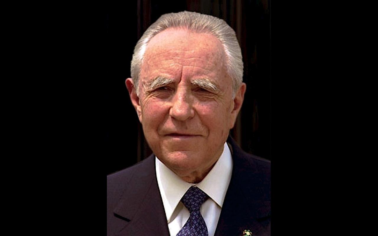 El expresidente italiano Carlo Azeglio Ciampi