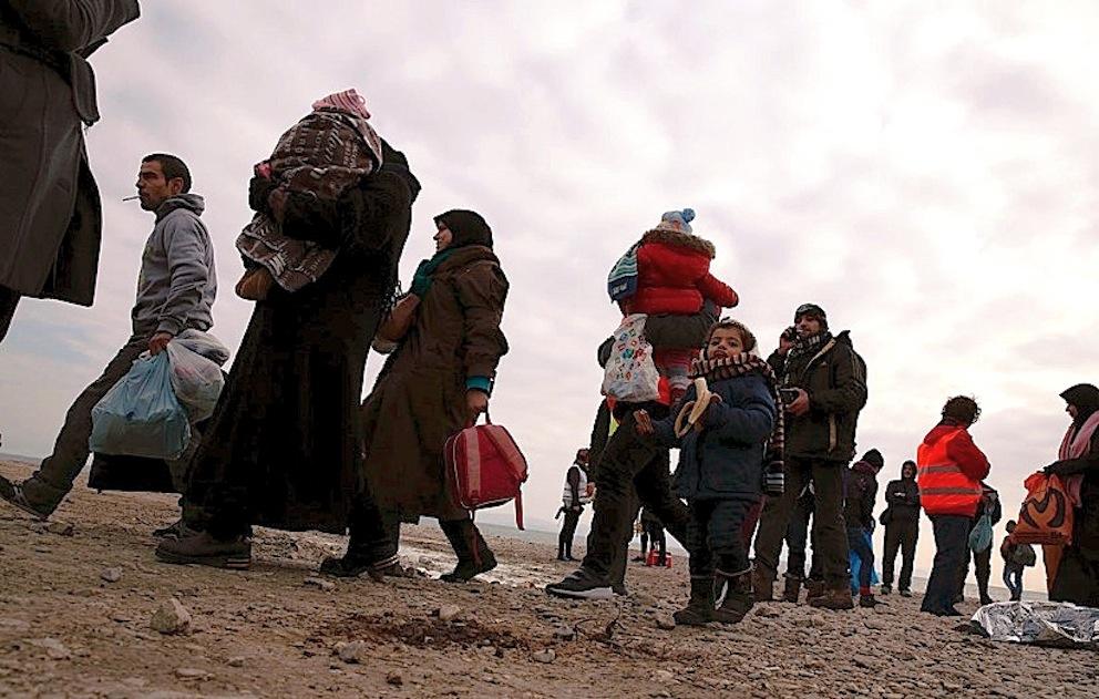 Refugiados (Foto Darrin Zammit Lupi - Jesuit refugee service)