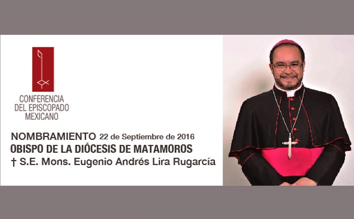 Mons. Eugenio Andrés Lira Rugarcía