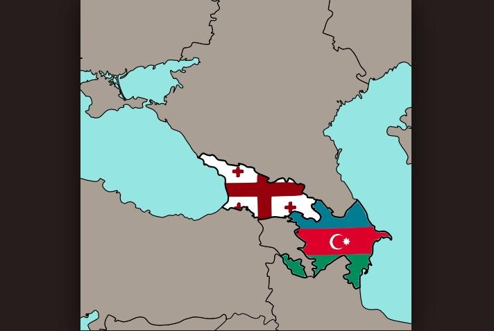 Georgia y Azerbaiyán (Commons Wikimedia pd)