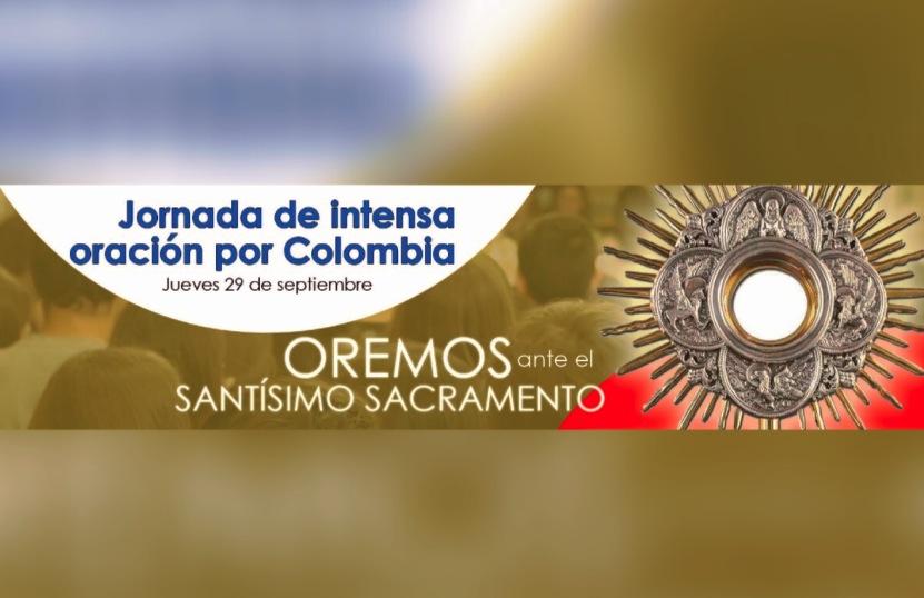 La invitación de los obispos a la Jornada de oración en Colombia