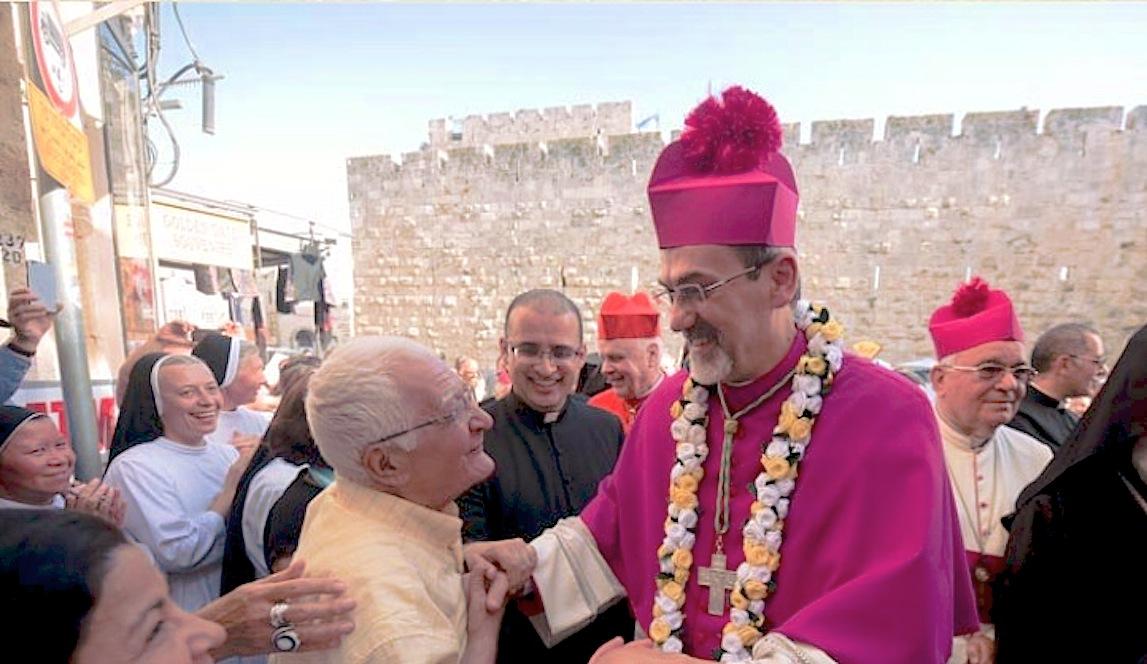 Mons. Pizzaballa vuelve a Jerusalén como administrador apostólico (Foto Custordia.org)