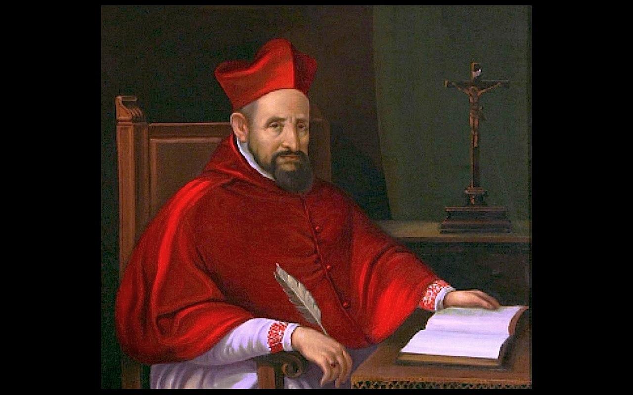 San Roberto Belarmino (Olio del siglo XVI) pd