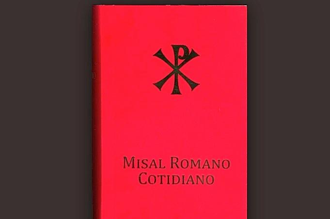 El Misal Romano Cotidiano en idioma español (Foto Iglesia.cl)