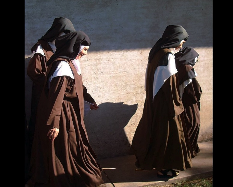 Carmelitas en el monasterio de la ciudad de Nogoyá, en Argentina (Fto. Wiki commons - Marqués de la Force -cc ).
