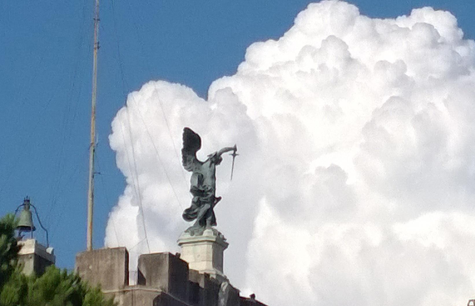 San Miguel Arcangel en Castel Sant'Angelo, en Roma (Foto ZENIT cc)