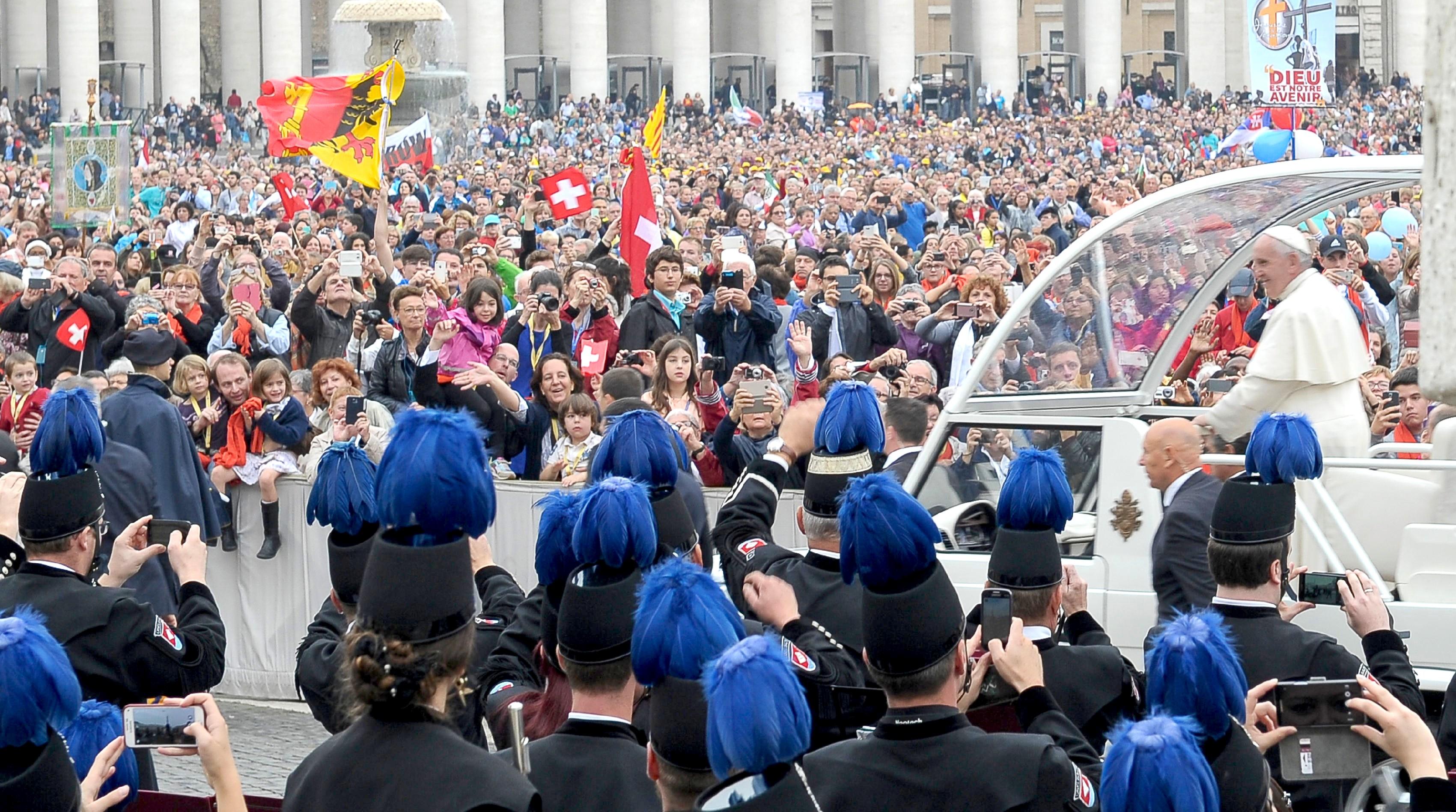 Audiencia de los miércoles (Foto Osservatore Romano©)