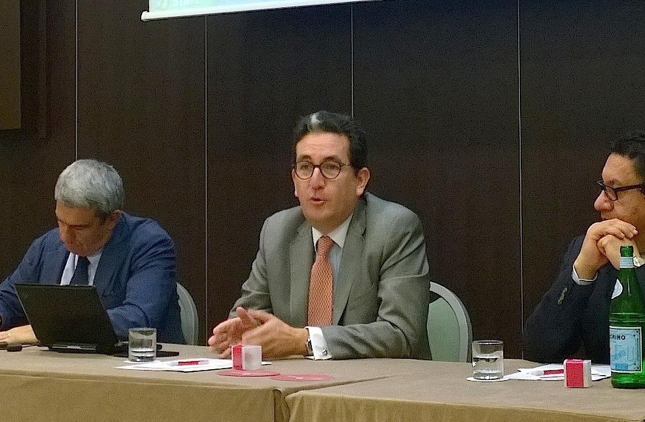 El embajador de Colombia en Italia, Juan Mesa (Foto ZENIT cc).