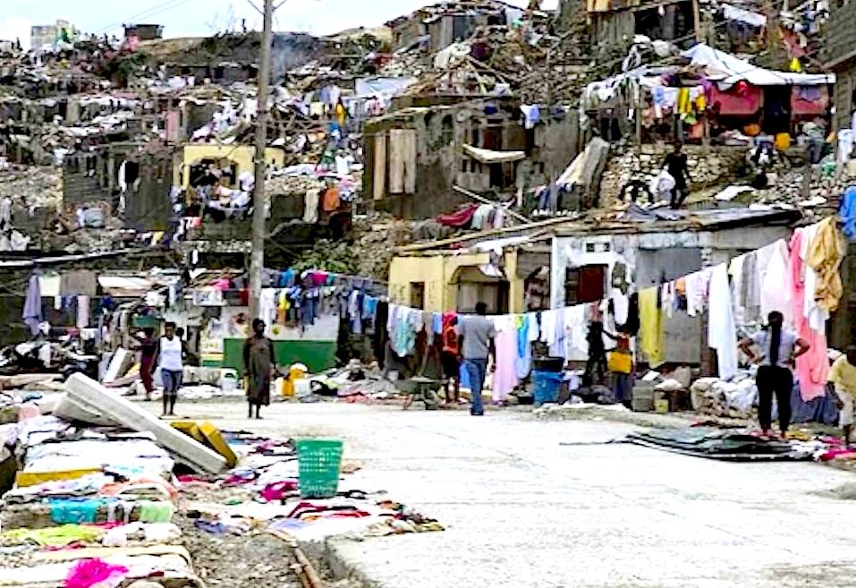 Haití después del huracán (Foto agencia de noticias ANS)