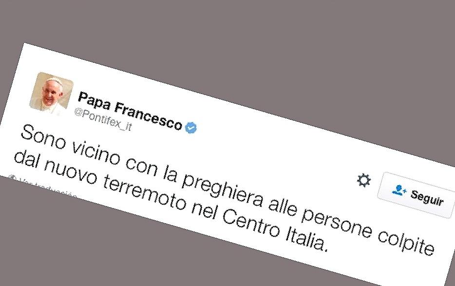 El 'tuit' del Papa