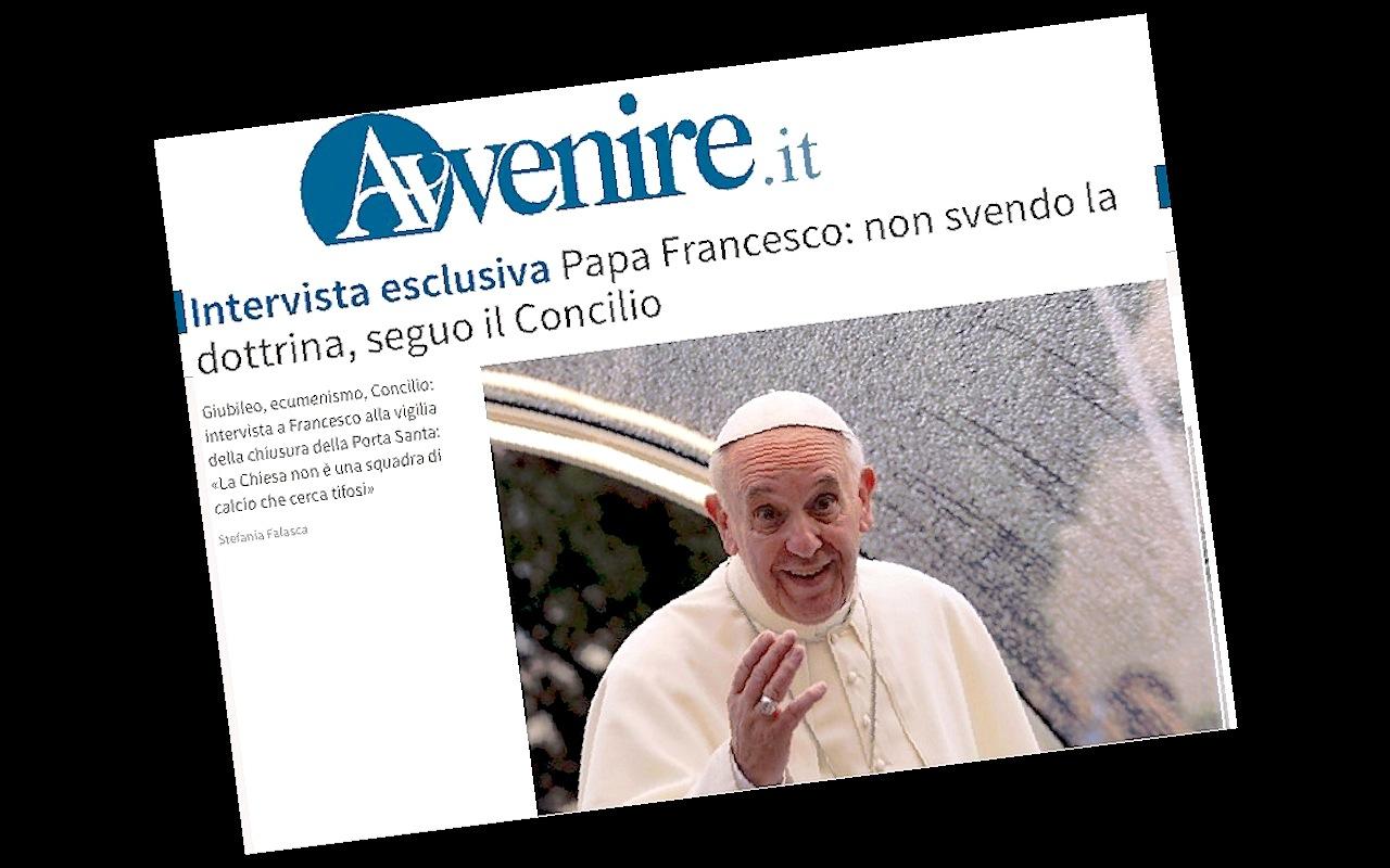 La entrevista del Papa al diario Avvenire