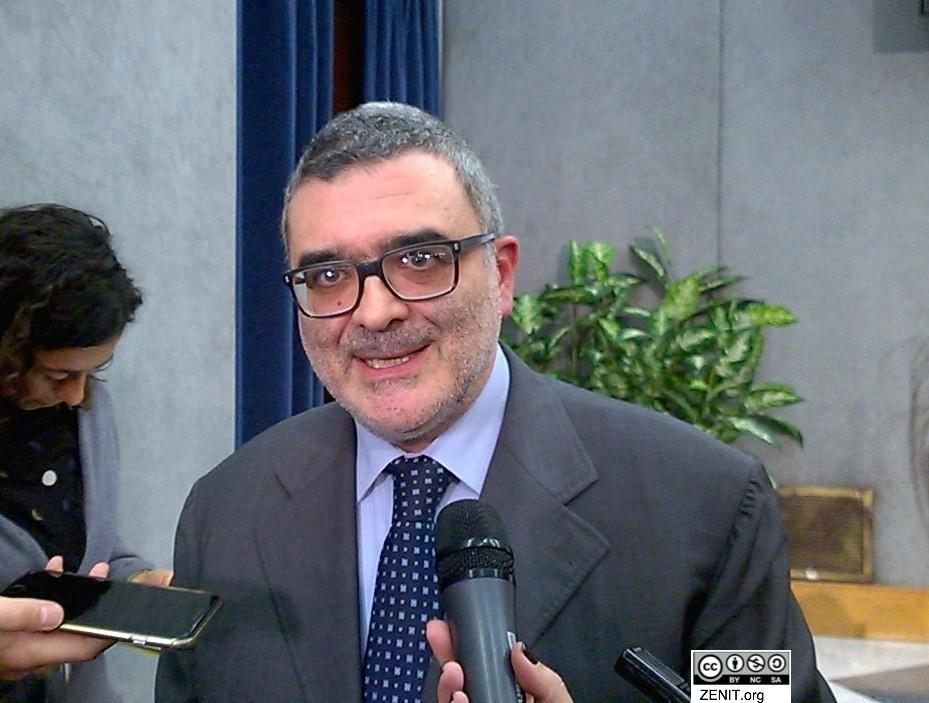 Carlos Santoro de la Comunidad de San Egidio (Foto ZENIT cc)