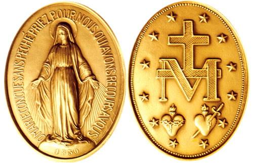 Medalla Milagrosa - (Rodripf - Wikimedia.org)