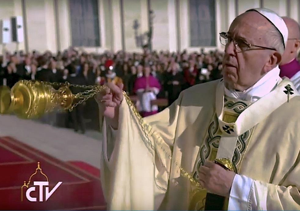 La celebración de la misa de clausura del Jubileo de la Misericordia