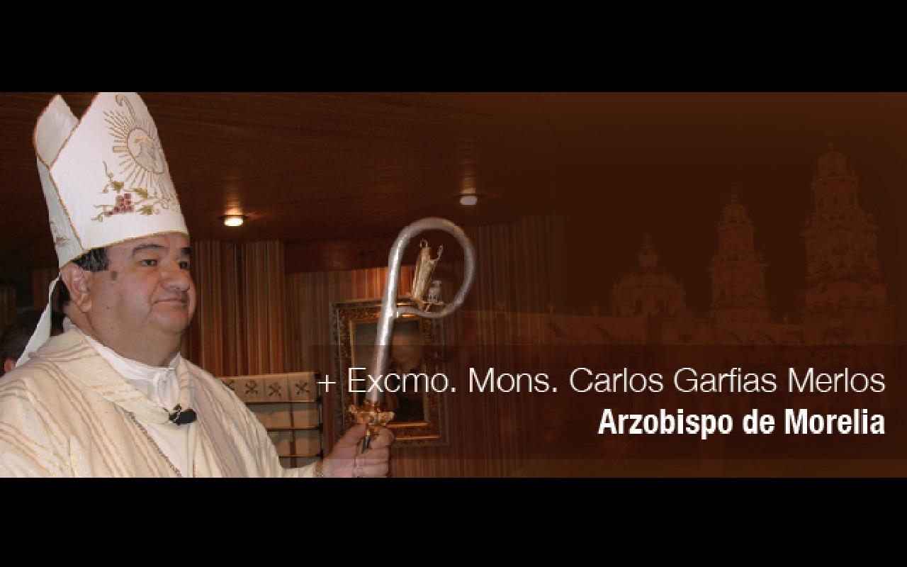 Mons. Carlos Garfias Merlo (Foto CEC)