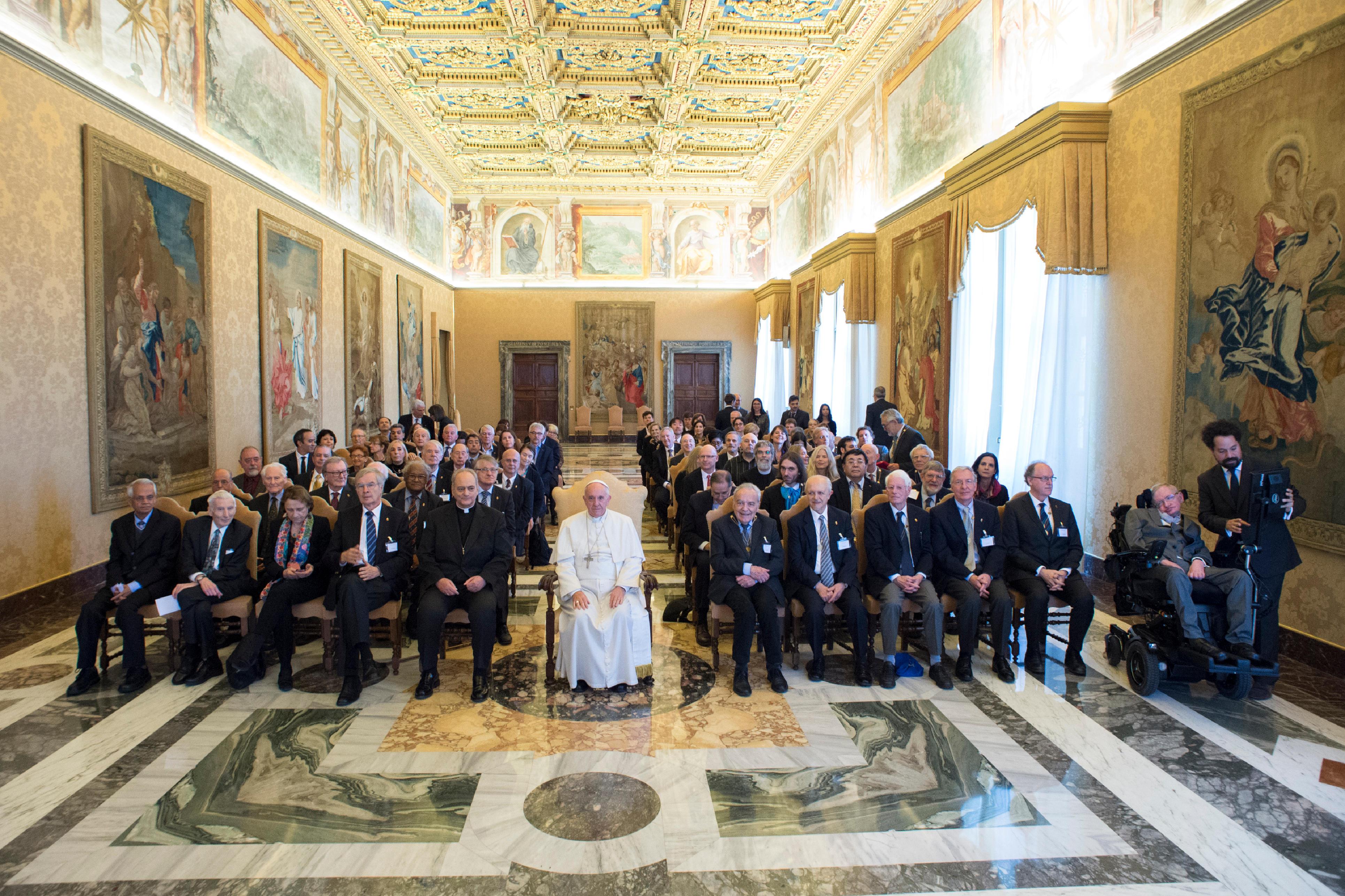 El Papa con la Pontificia Academia de las Ciencias © L´Osservatore Romano