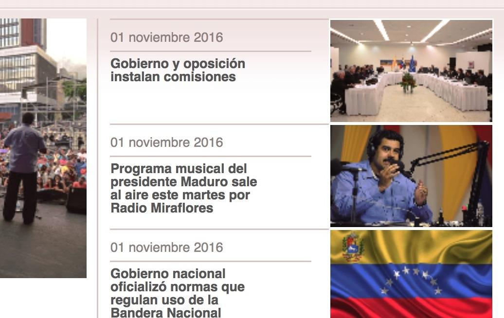 Web gobiernoenlinea.ve